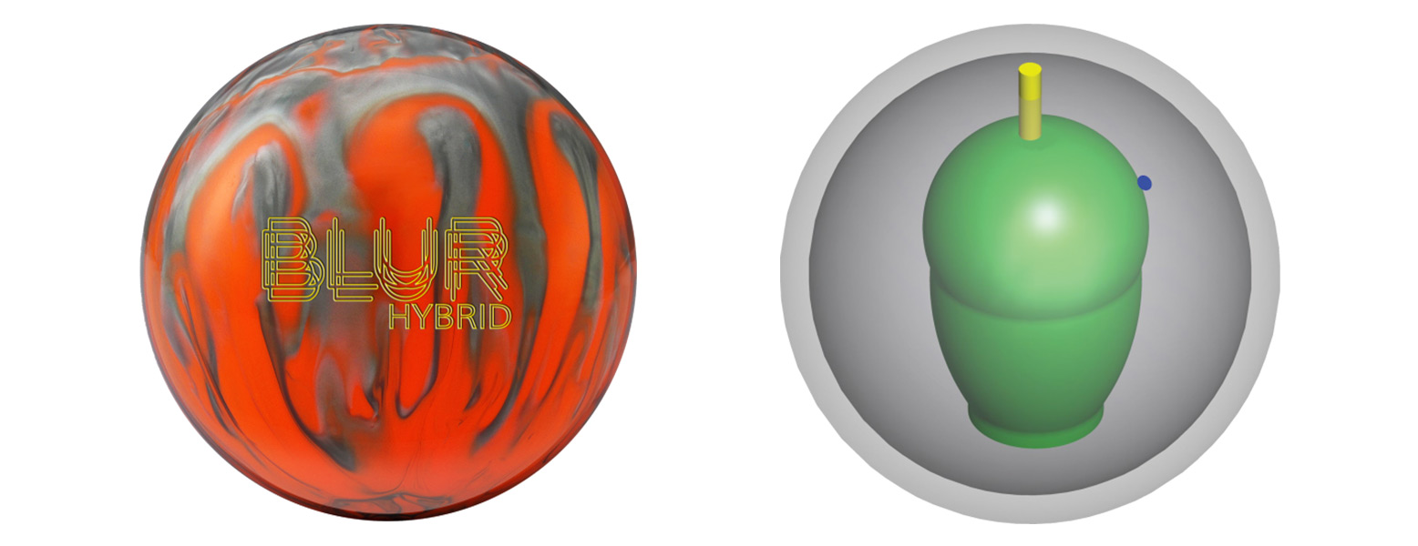 Columbia 300 Blur Hybrid Bowling Ball Review - Bowling ...