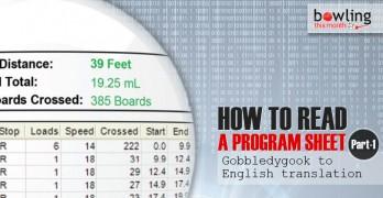 How to Read a Program Sheet - Part 1