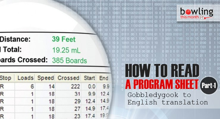 How to Read a Program Sheet - Part 1