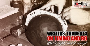 Writers' Thoughts on Timing and RG