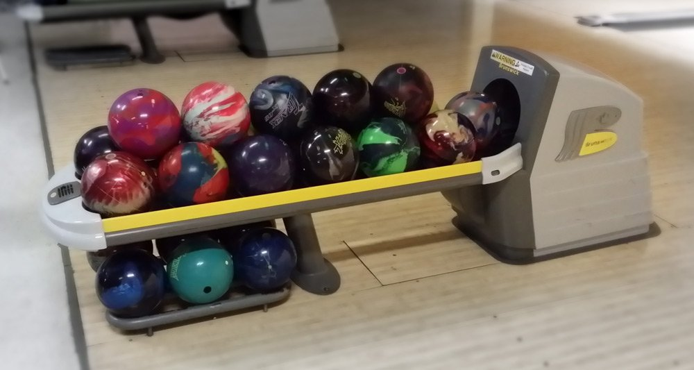 Bowling Balls An InDepth Overview Bowling This Month Beauteous Bowling Ball Display Stand