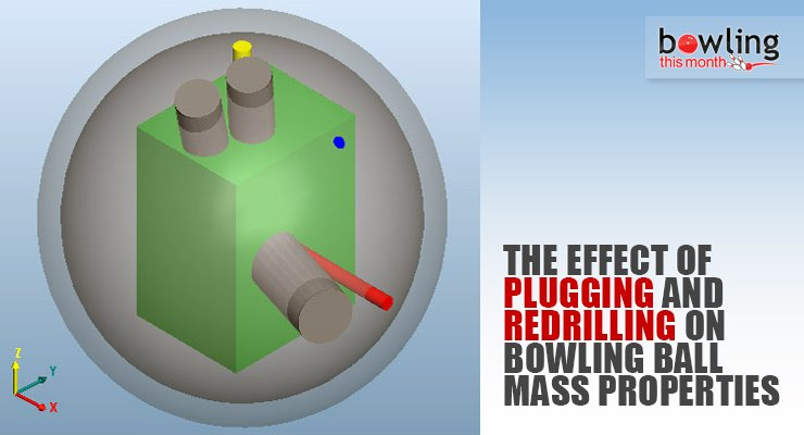 The Effect of Plugging and Redrilling on Bowling Ball Mass Properties