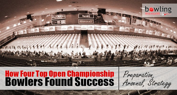 How Four Top Open Championship Bowlers Found Success