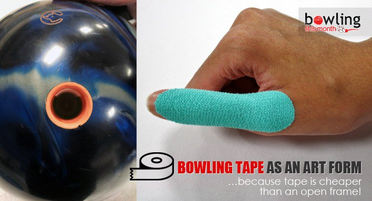 Bowling Tape as an Art Form