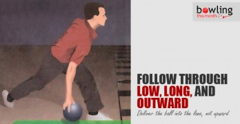 Follow Through Low, Long, and Outward