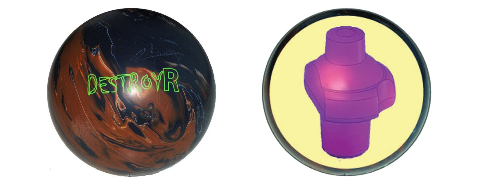 Morich Destroyr Bowling Ball Review Bowling This Month