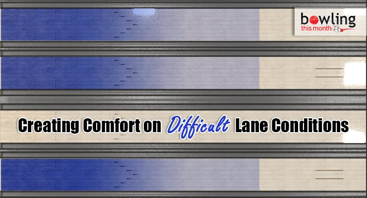 Creating Comfort on Difficult Lane Conditions