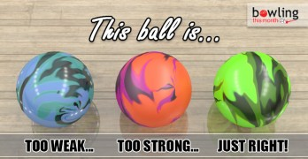 This Ball is too Weak, This Ball is Too String, This Ball is Just Right!