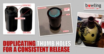 Duplicating Thumb Holes for a Consistent Release