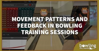 Movement Patterns and Feedback in Bowling Training Sessions
