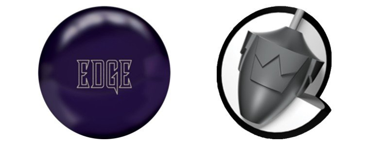 Brunswick Edge Dark Purple Solid