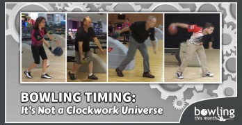 Bowling Timing: It's Not a Clockwork Universe