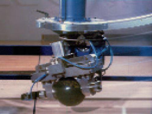 ThroBot in action