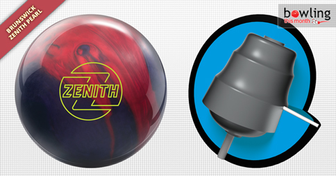 Brunswick Zenith Pearl Bowling Ball NIB 1st Quality